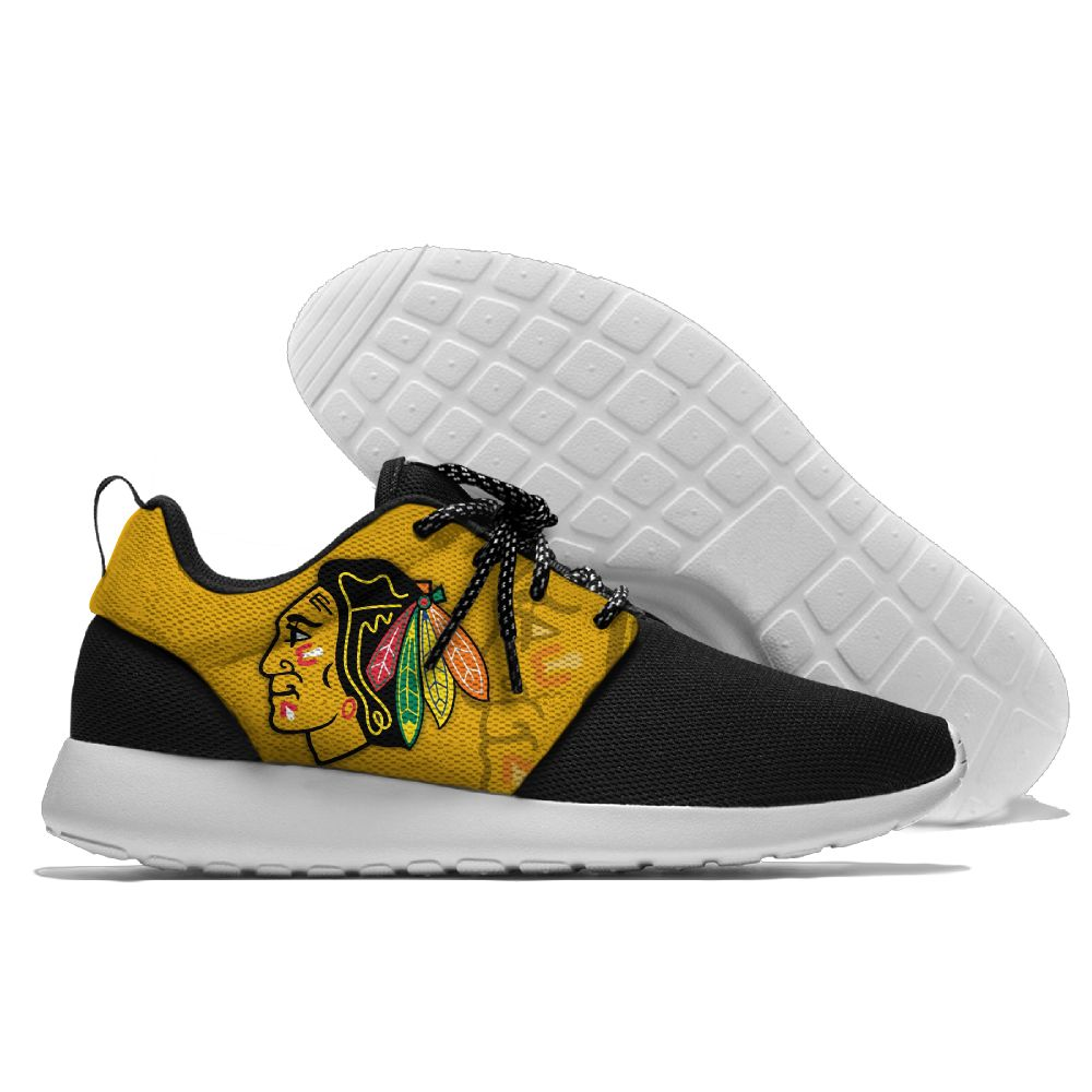 Men NHL Chicago Blackhawks Roshe style Lightweight Running shoes 6