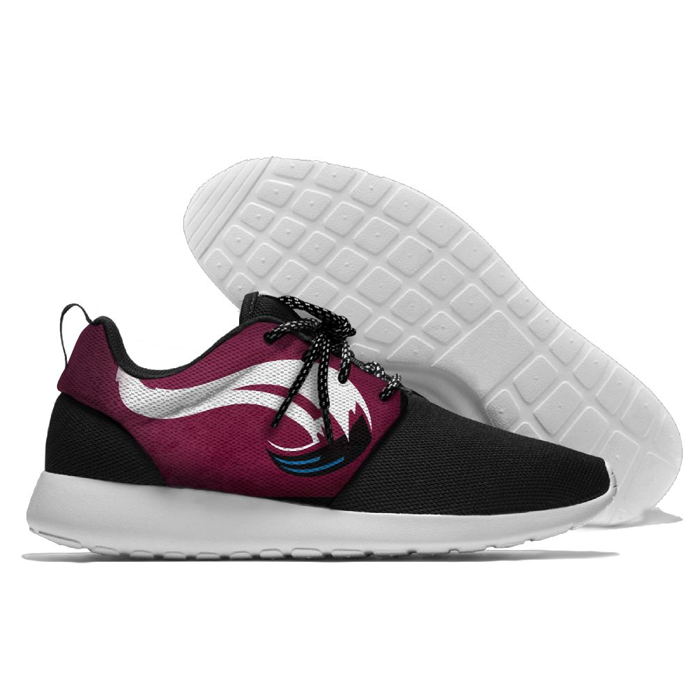 Men NHL Colorado Avalanche Roshe style Lightweight Running shoes 1
