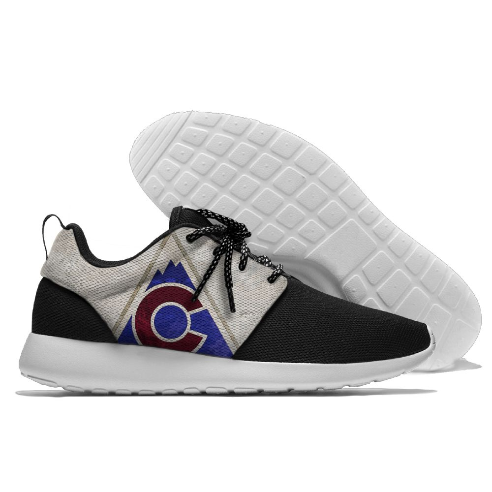 Men NHL Colorado Avalanche Roshe style Lightweight Running shoes 9
