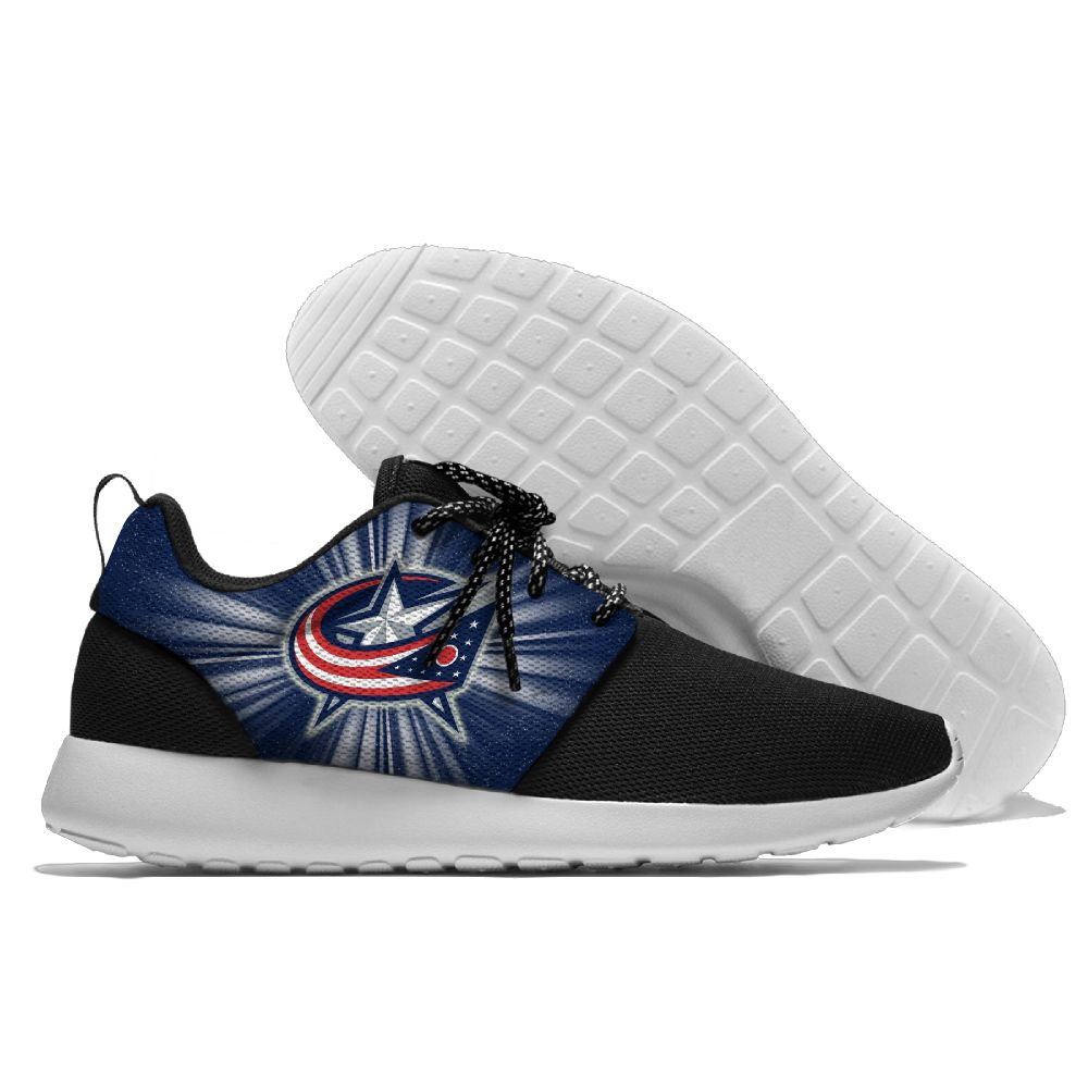 Men NHL Columbus Blue Jackets Roshe style Lightweight Running shoes 2