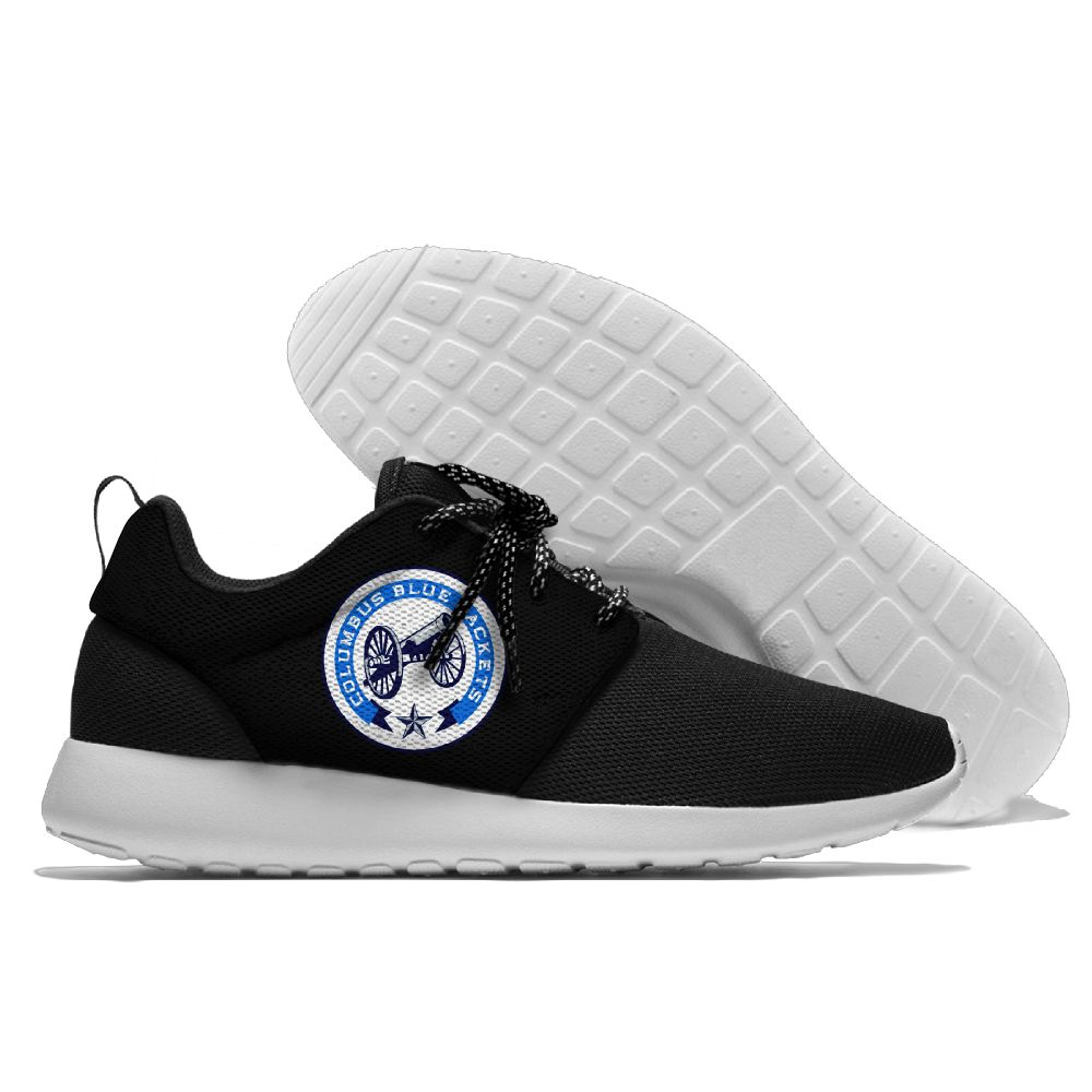 Men NHL Columbus Blue Jackets Roshe style Lightweight Running shoes 3