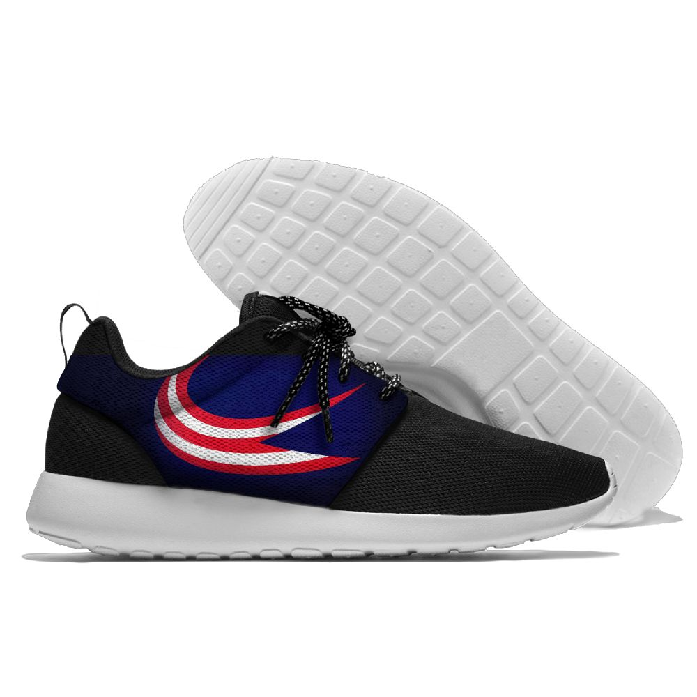 Men NHL Columbus Blue Jackets Roshe style Lightweight Running shoes 5