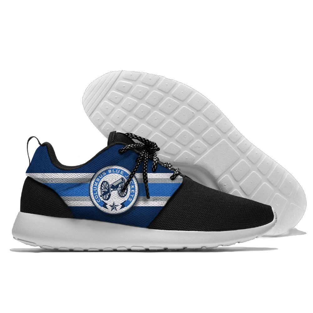 Men NHL Columbus Blue Jackets Roshe style Lightweight Running shoes 9