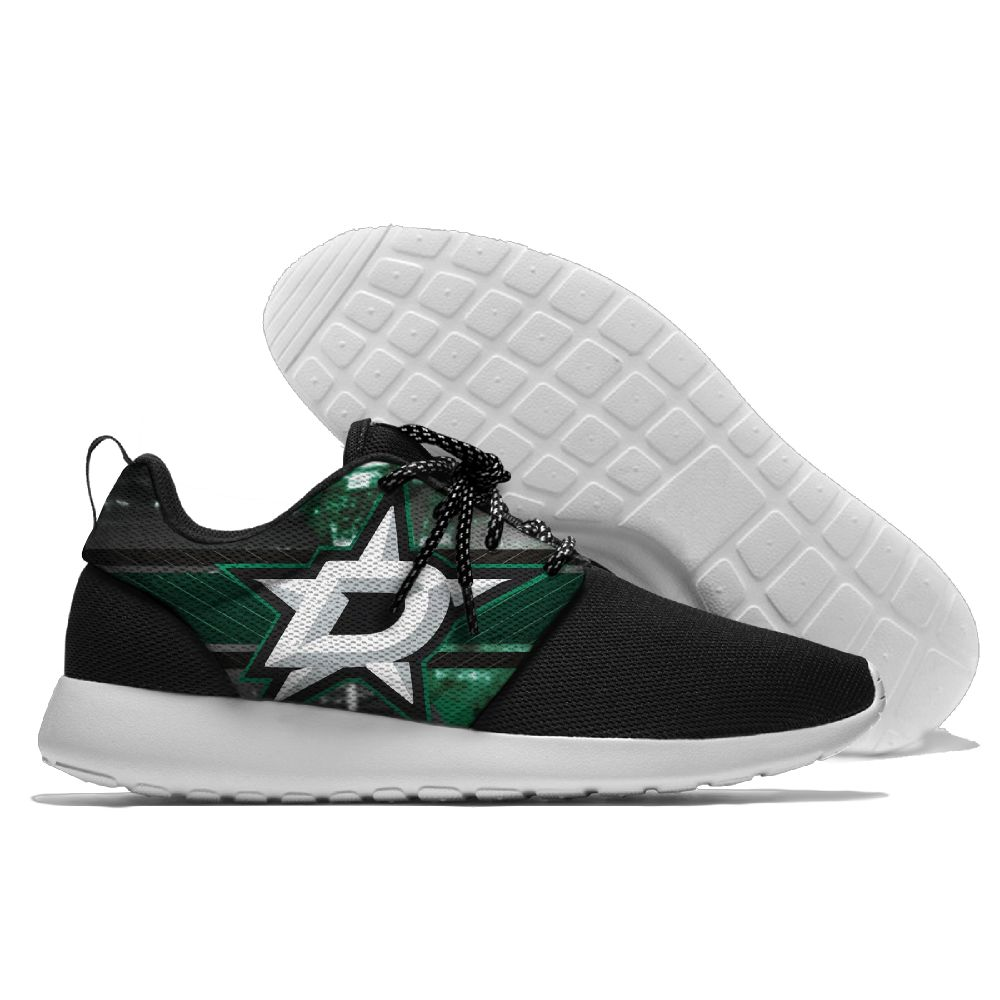 Men NHL Dallas Stars Roshe style Lightweight Running shoes 10