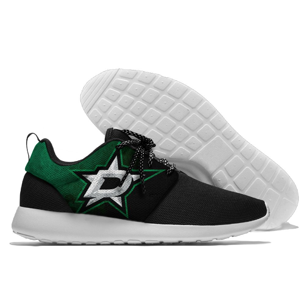 Men NHL Dallas Stars Roshe style Lightweight Running shoes 11
