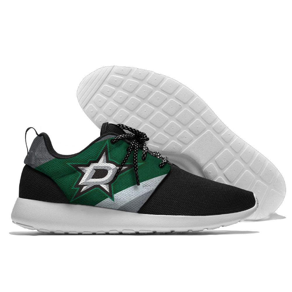 Men NHL Dallas Stars Roshe style Lightweight Running shoes 12