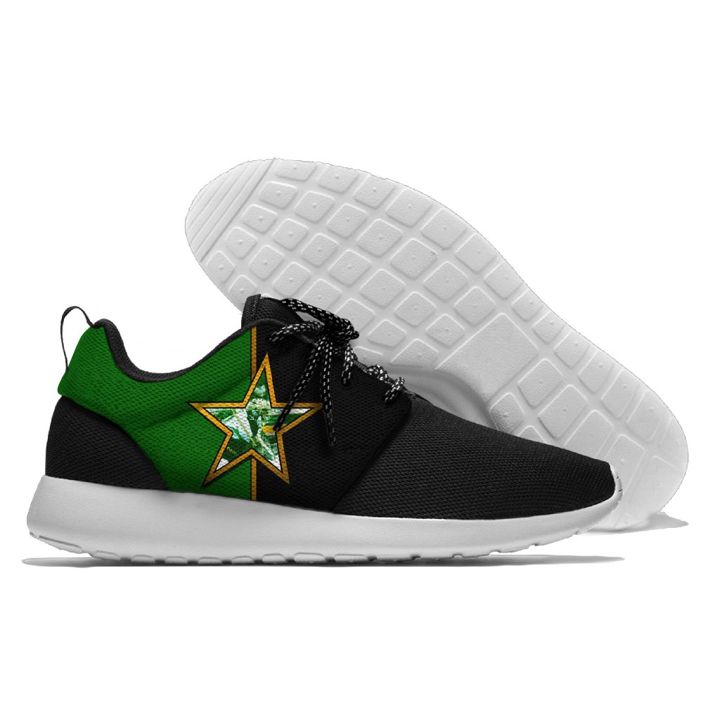 Men NHL Dallas Stars Roshe style Lightweight Running shoes 3