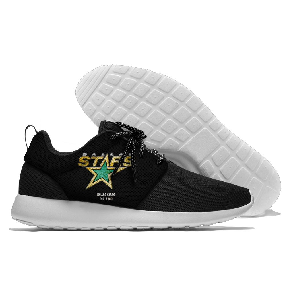 Men NHL Dallas Stars Roshe style Lightweight Running shoes 5