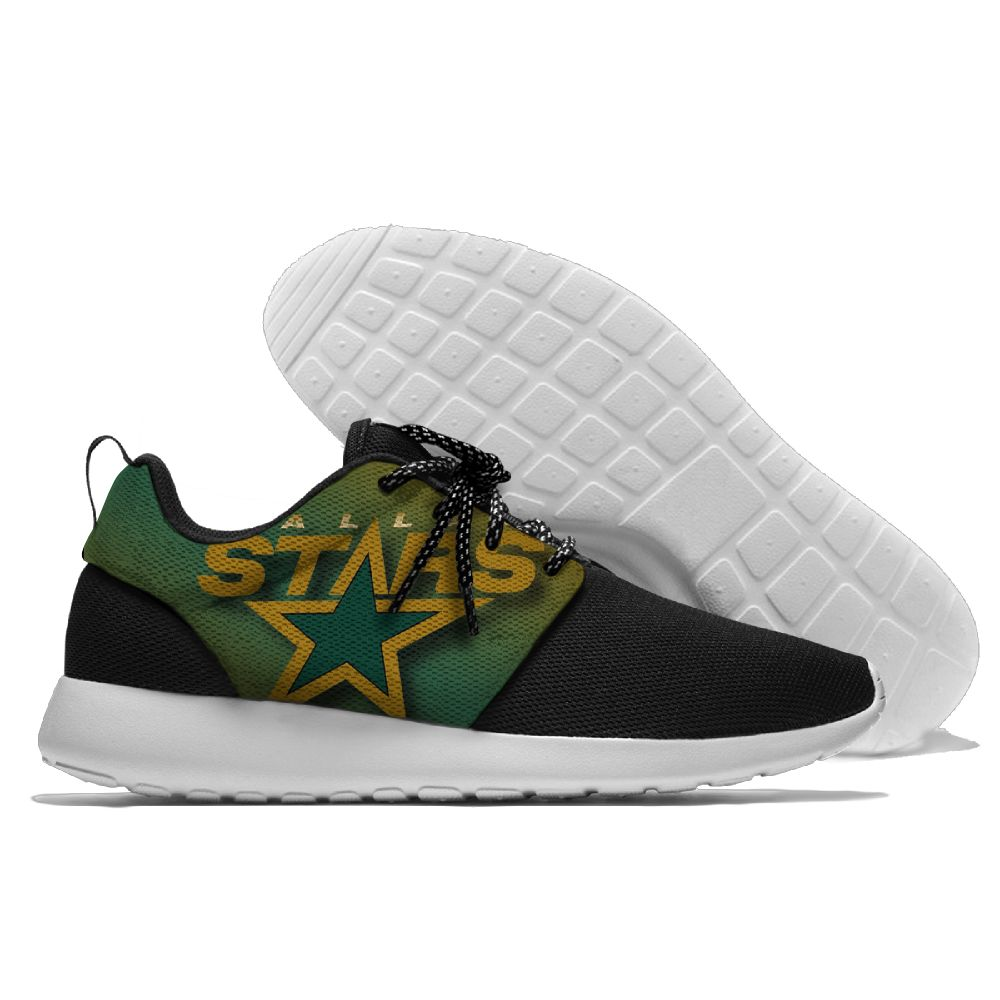 Men NHL Dallas Stars Roshe style Lightweight Running shoes 6