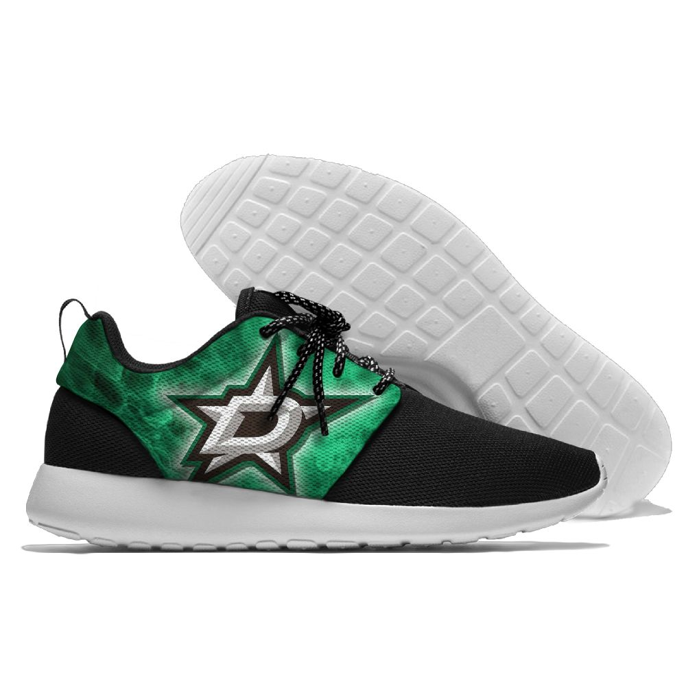 Men NHL Dallas Stars Roshe style Lightweight Running shoes 8