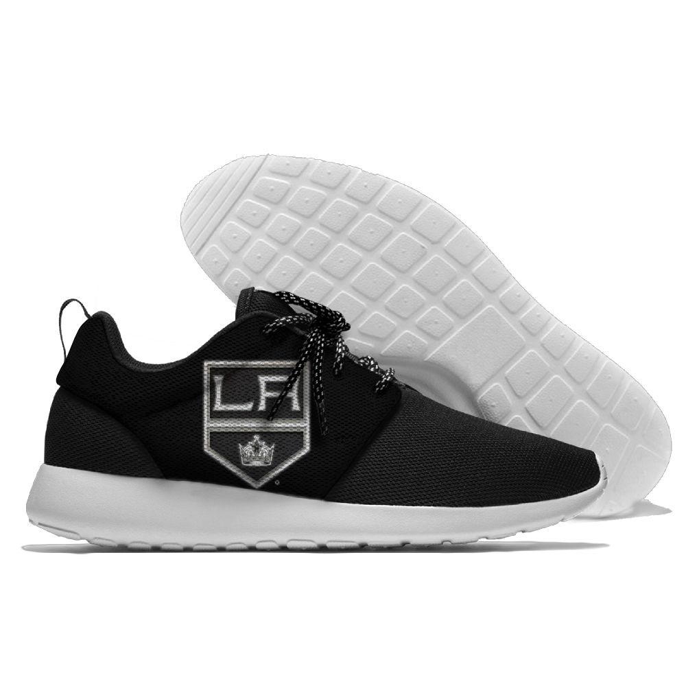 Men NHL Los Angeles Kings Roshe style Lightweight Running shoes 2