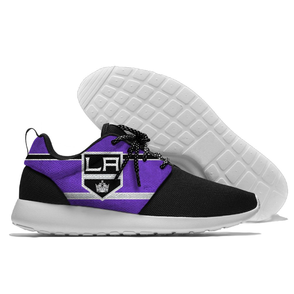 Men NHL Los Angeles Kings Roshe style Lightweight Running shoes 7