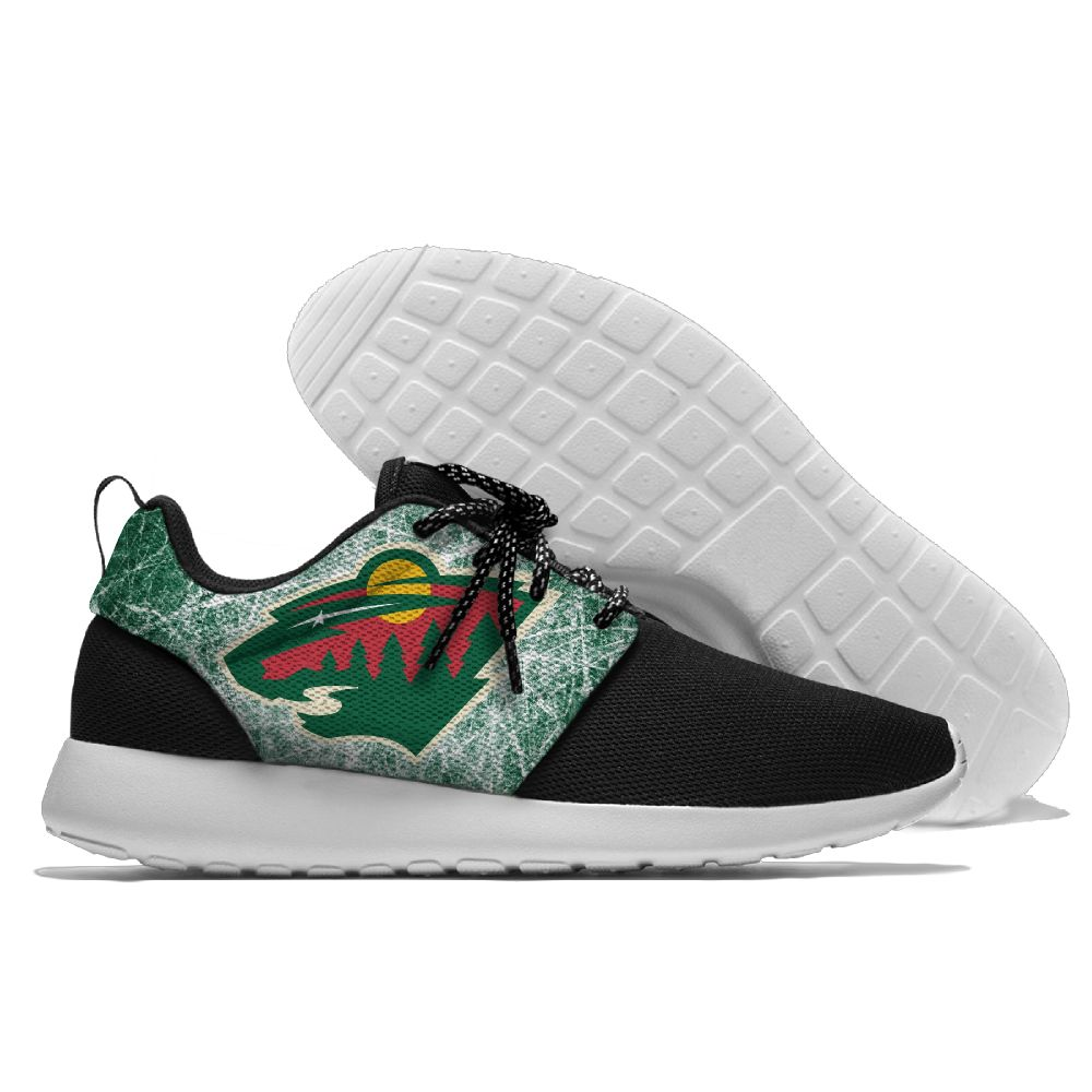 Men NHL Minnesota Wild Roshe style Lightweight Running shoes 5