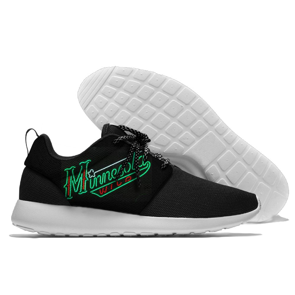 Men NHL Minnesota Wild Roshe style Lightweight Running shoes 7