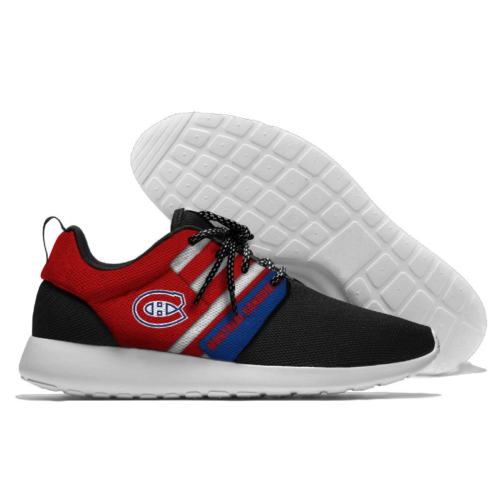 Men NHL Montreal Canadiens Roshe style Lightweight Running shoes 13