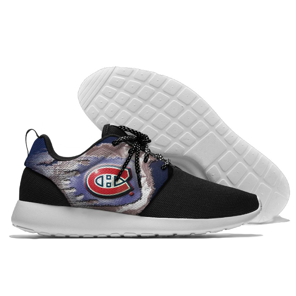 Men NHL Montreal Canadiens Roshe style Lightweight Running shoes 9