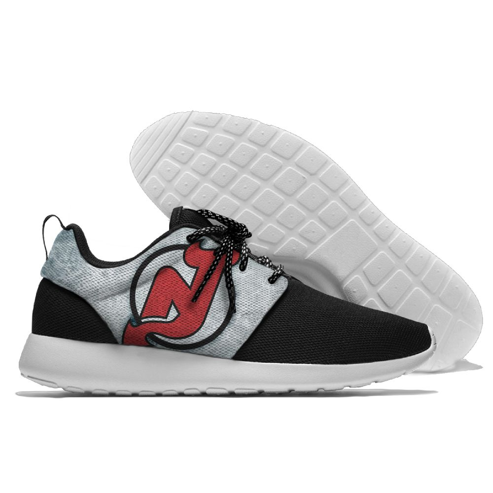 Men NHL New Jersey Devils Roshe style Lightweight Running shoes 2