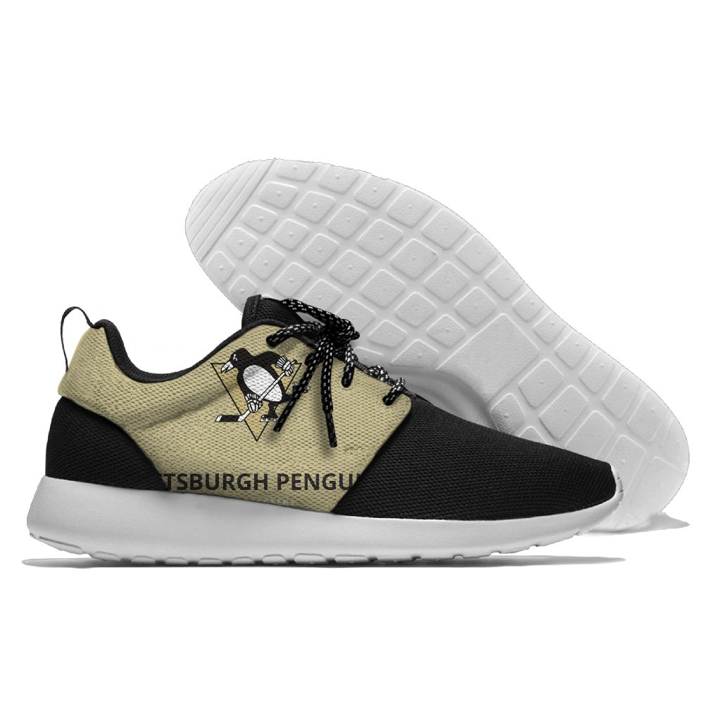Men NHL Pittsburgh Penguins Roshe style Lightweight Running shoes 22