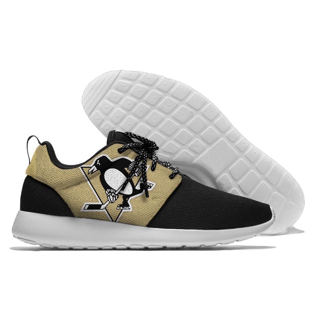 Men NHL Pittsburgh Penguins Roshe style Lightweight Running shoes19