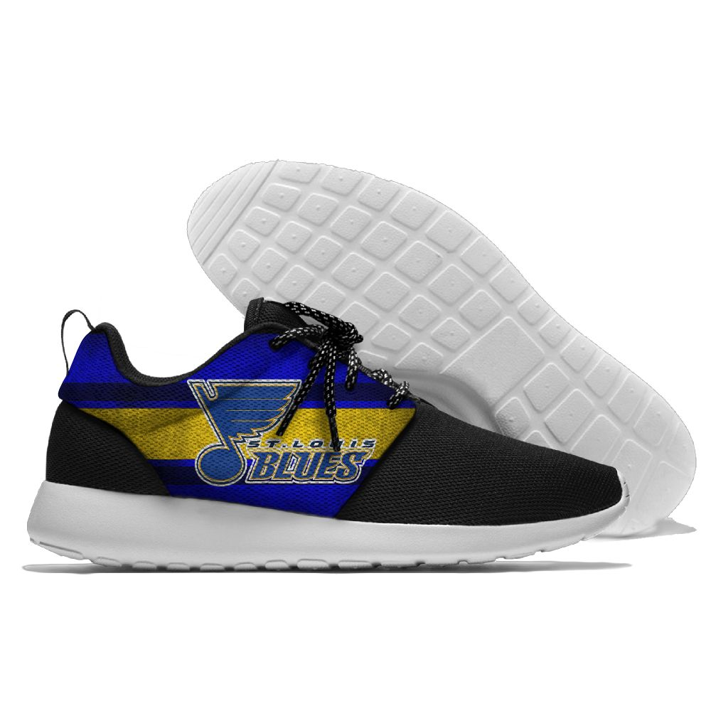 Men NHL St. Louis Blues Roshe style Lightweight Running shoes 1