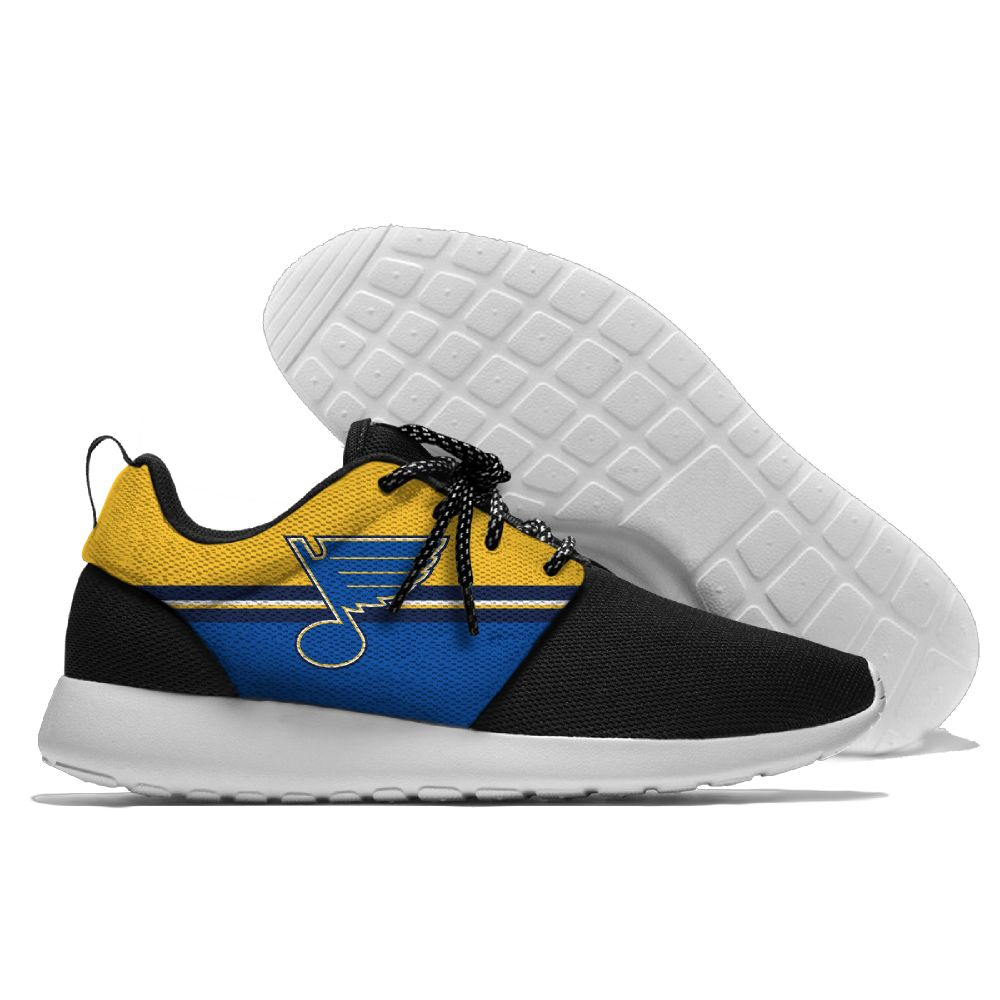 Men NHL St. Louis Blues Roshe style Lightweight Running shoes 10