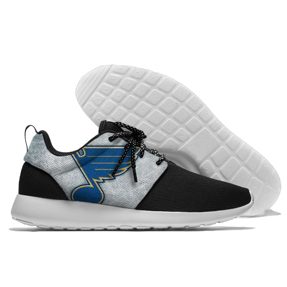 Men NHL St. Louis Blues Roshe style Lightweight Running shoes 12