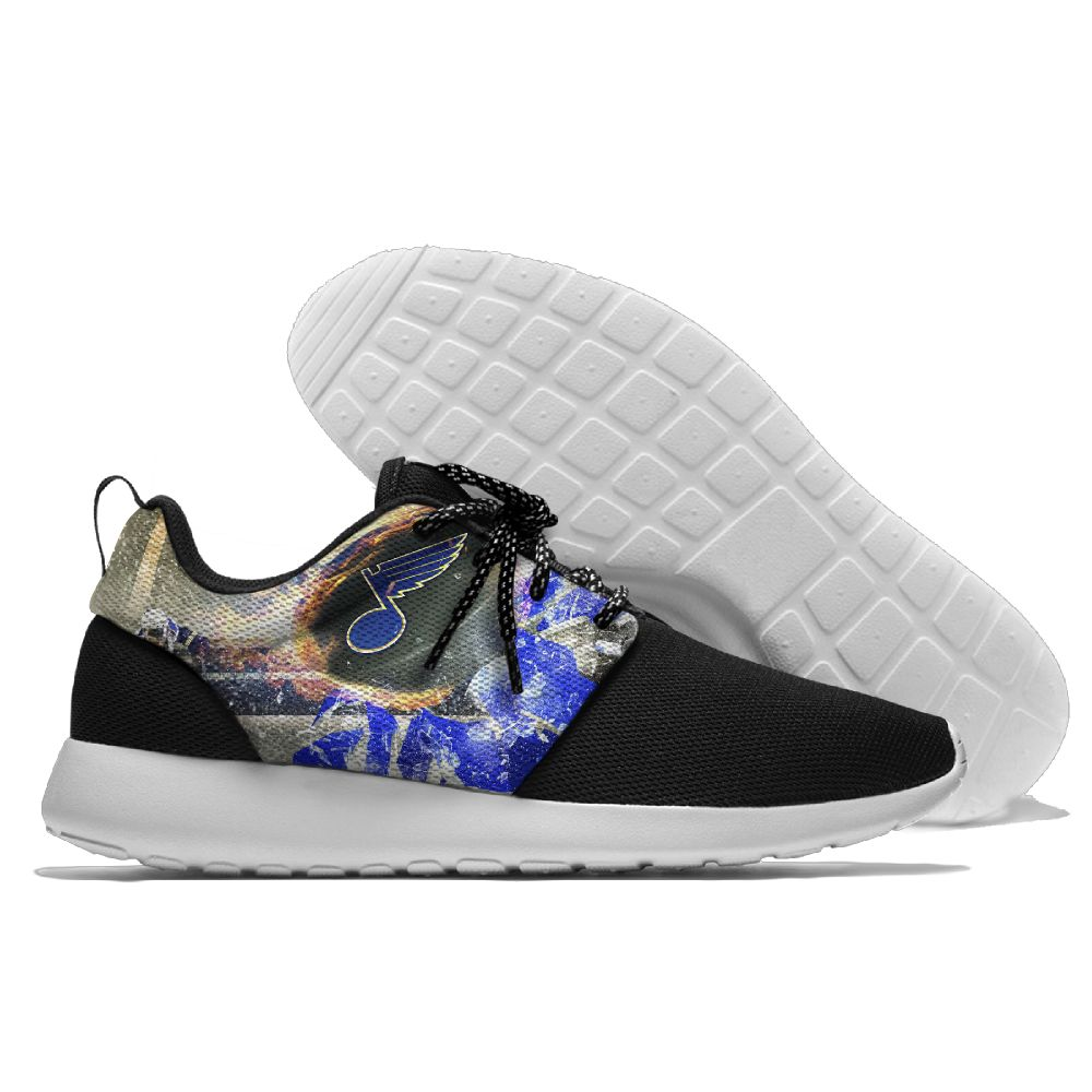 Men NHL St. Louis Blues Roshe style Lightweight Running shoes 13