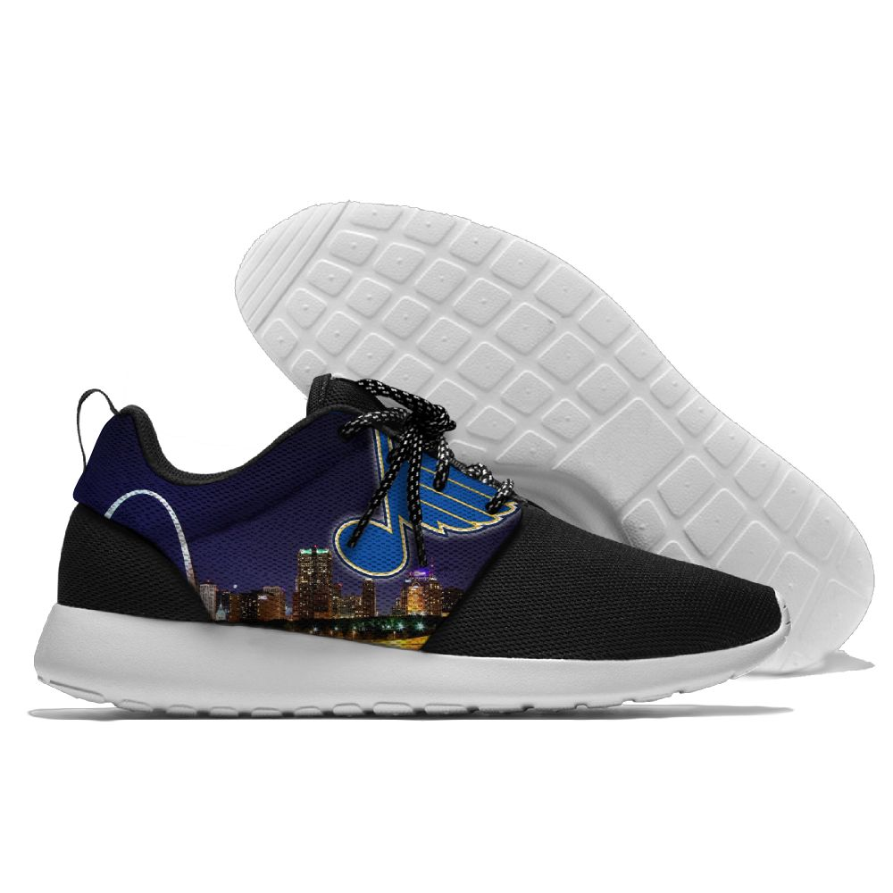Men NHL St. Louis Blues Roshe style Lightweight Running shoes 14