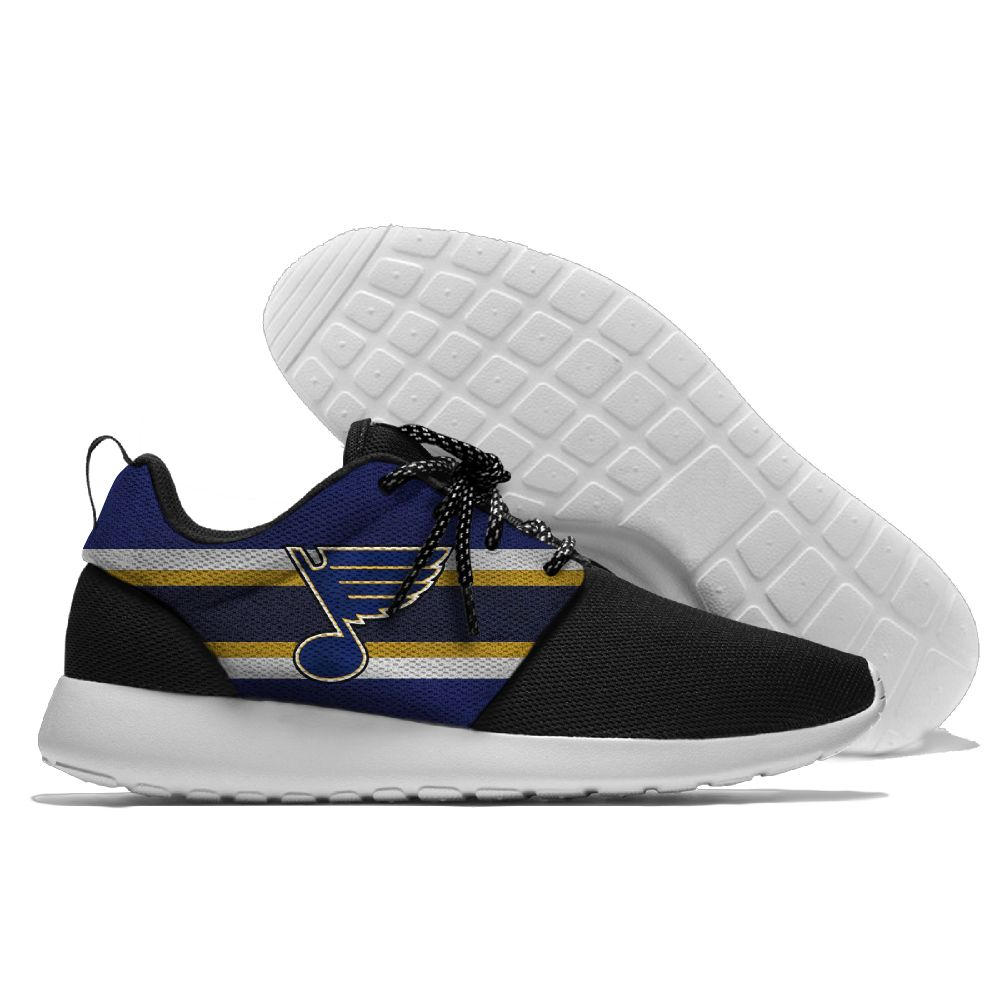 Men NHL St. Louis Blues Roshe style Lightweight Running shoes 2