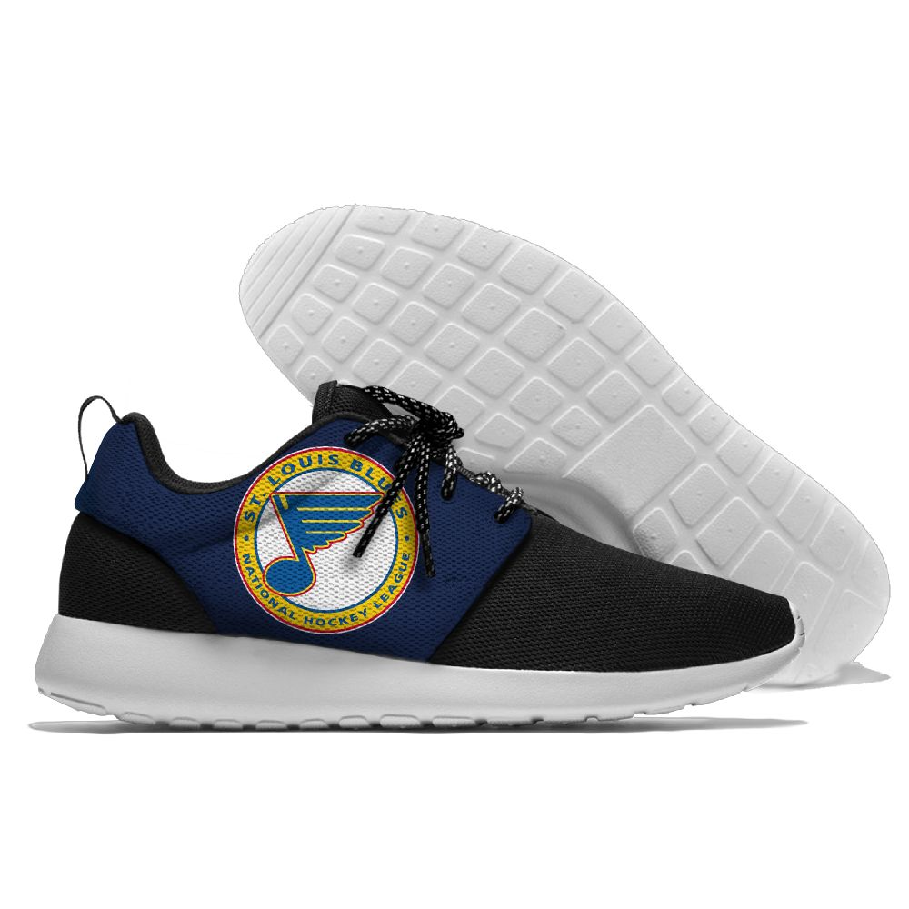 Men NHL St. Louis Blues Roshe style Lightweight Running shoes 21
