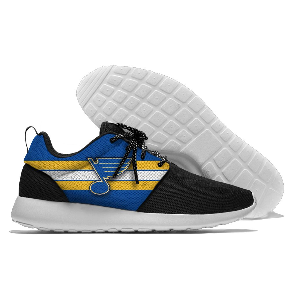 Men NHL St. Louis Blues Roshe style Lightweight Running shoes 22
