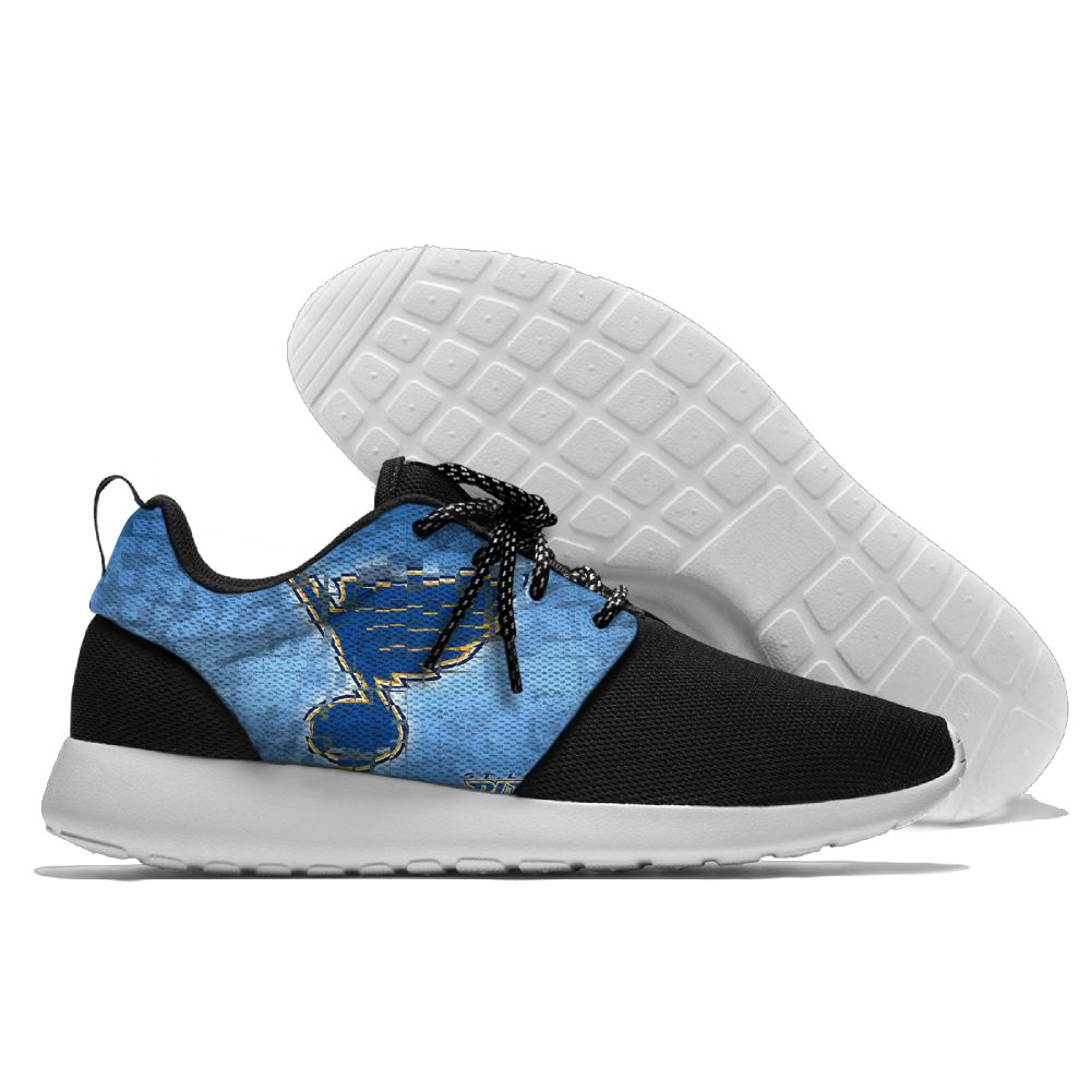 Men NHL St. Louis Blues Roshe style Lightweight Running shoes 3