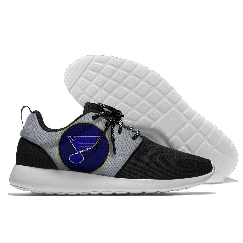 Men NHL St. Louis Blues Roshe style Lightweight Running shoes 6