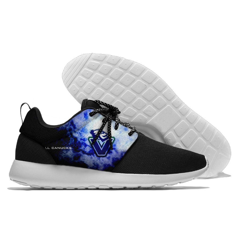 Men NHL Vancouver Canucks Roshe style Lightweight Running shoes 10