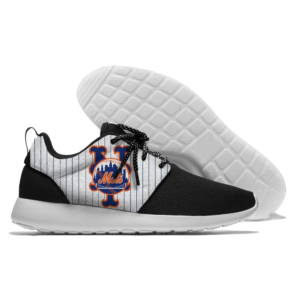 Men New York Mets Roshe style Lightweight Running shoes 3