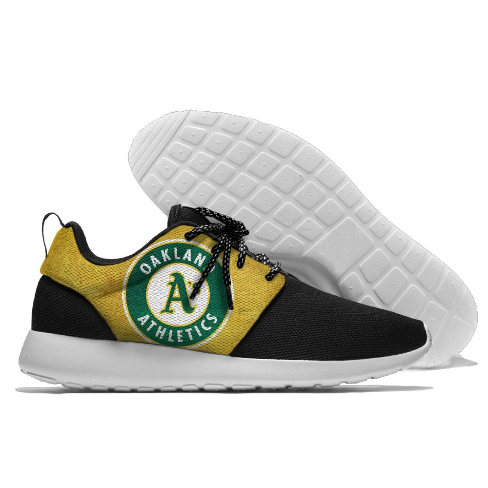 Men Oakland Athletics Roshe style Lightweight Running shoes 3