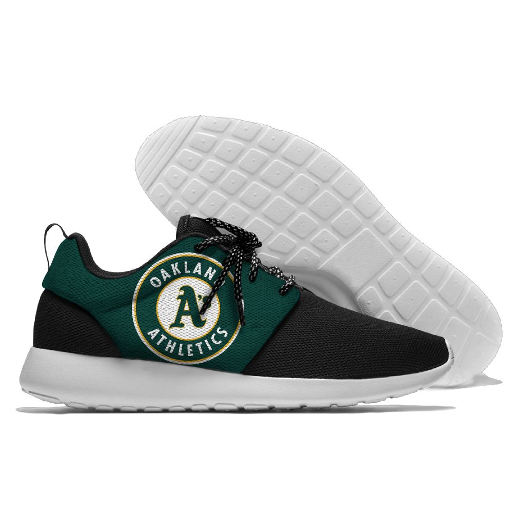 Men Oakland Athletics Roshe style Lightweight Running shoes