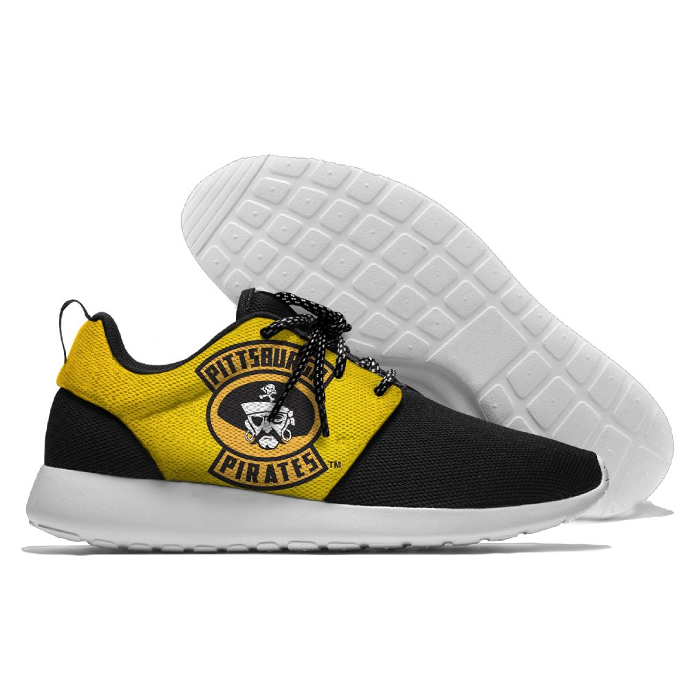 Men Pittsburgh Pirates Roshe style Lightweight Running shoes3