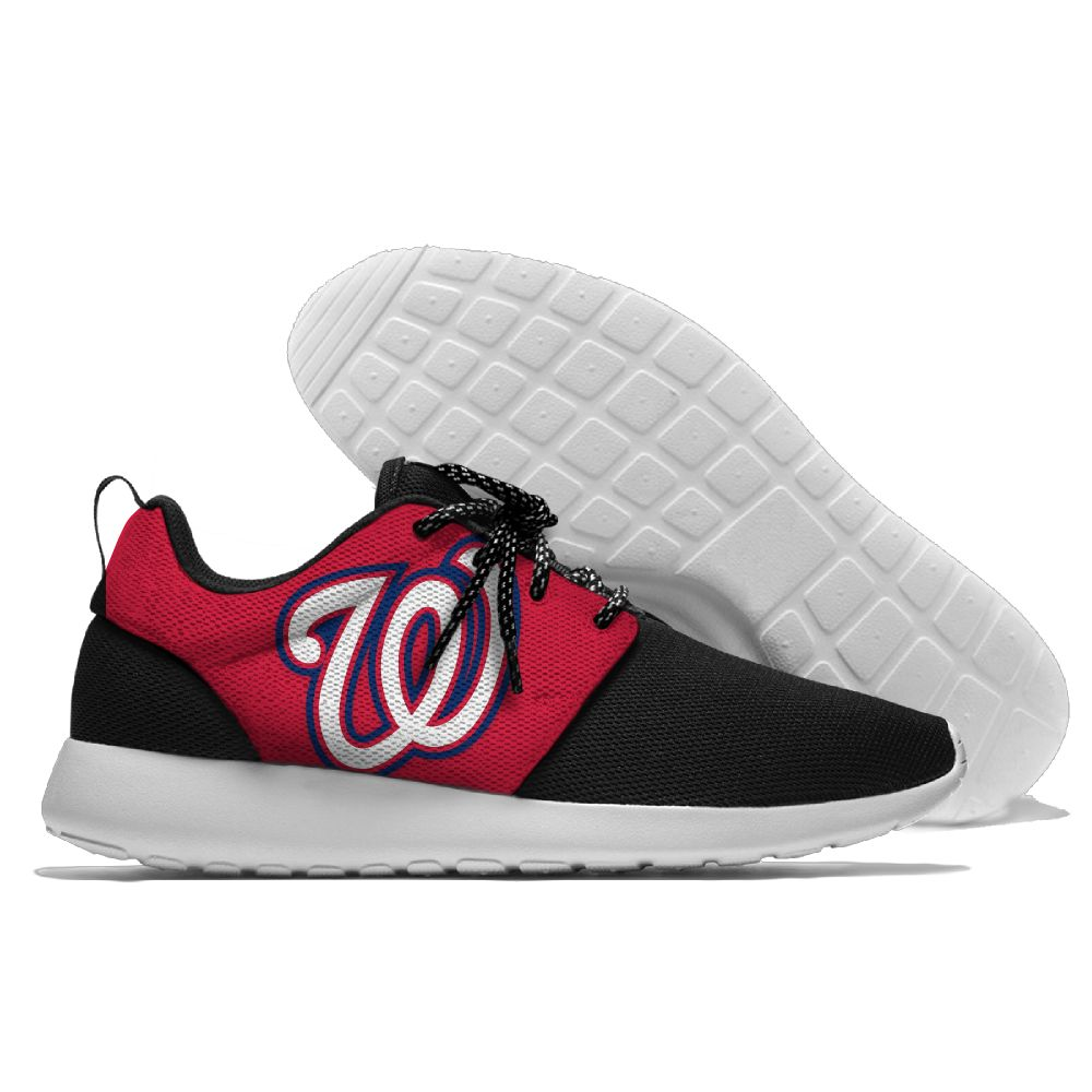 Men Washington Nationals Roshe style Lightweight Running shoes 3
