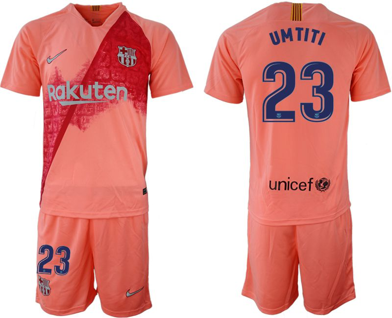 Men 2018-2019 club Barcelona away 23 pink Soccer Jerseys