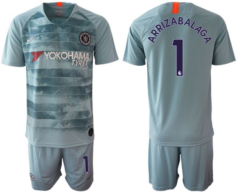 Men 2018-2019 club Chelsea FC away 1 blue Soccer Jerseys