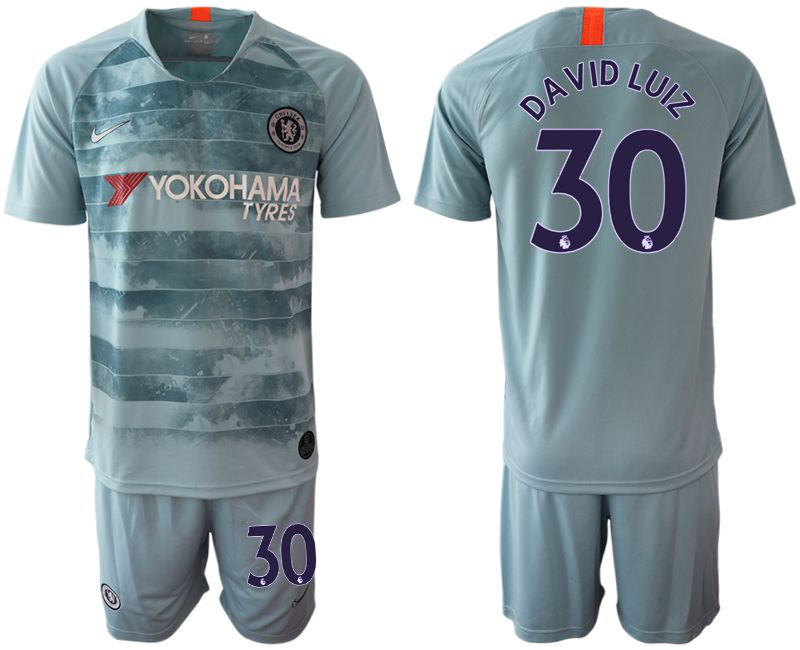 Men 2018-2019 club Chelsea FC away 30 blue Soccer Jerseys