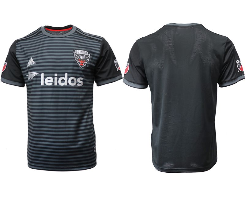 Men 2018-2019 club D.C. United home aaa version black Soccer Jerseys