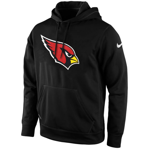 Men Arizona Cardinals Nike KO Logo Essential HoodieBlack