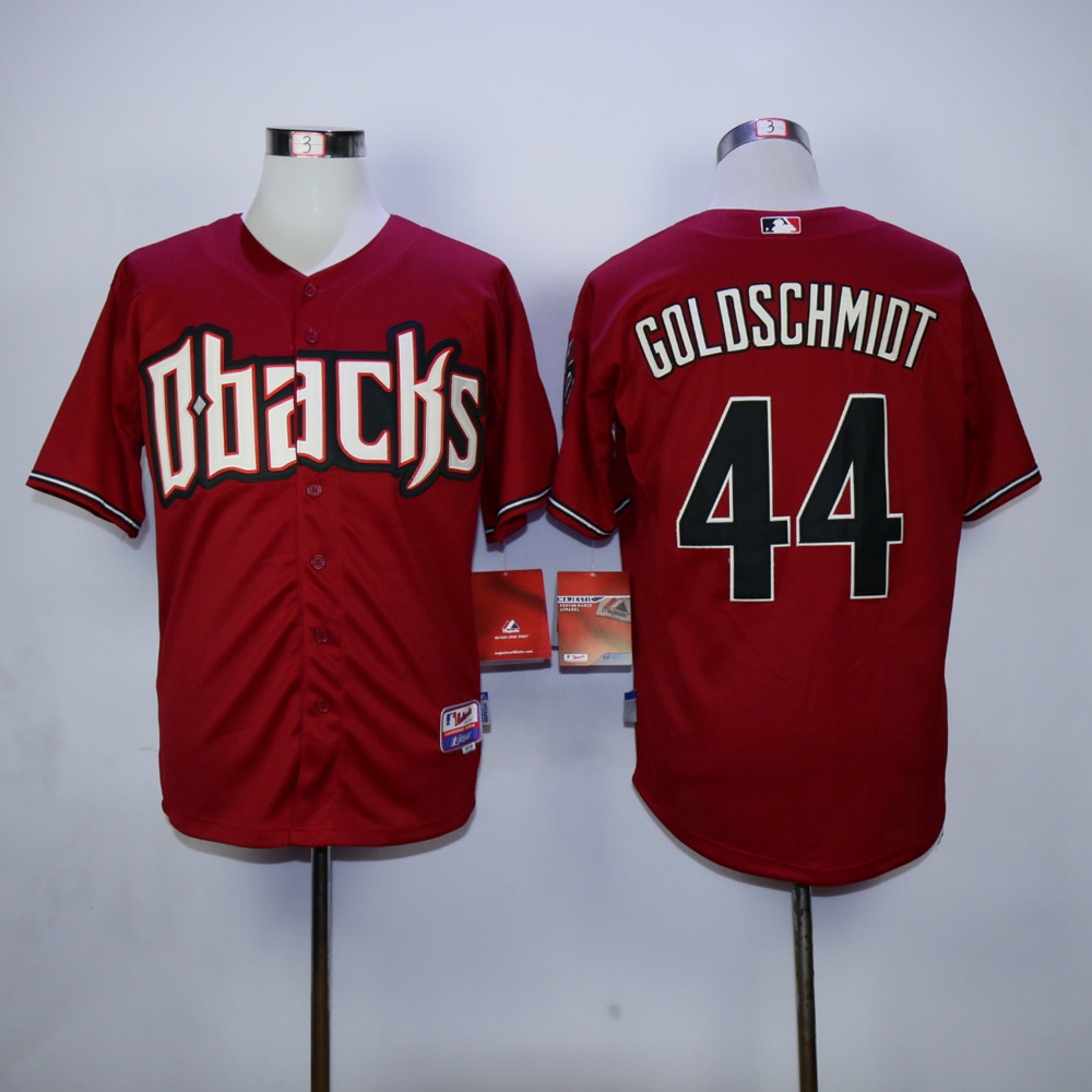 Men Arizona Diamondback 44 Goldschmidt Red MLB Jerseys