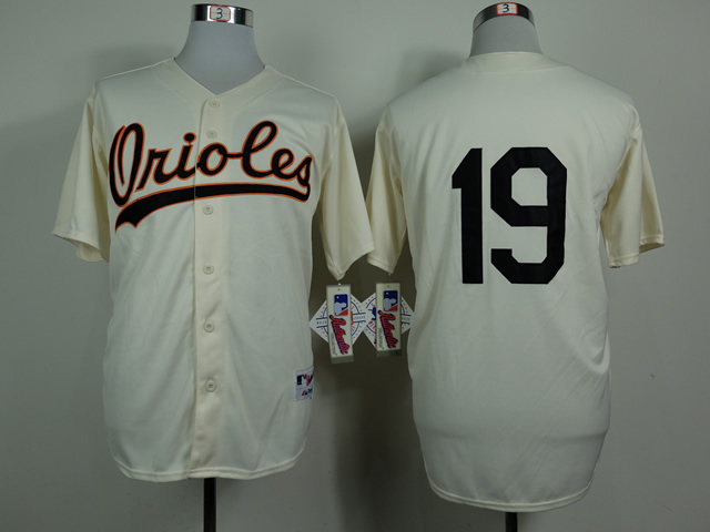 Men Baltimore Orioles 19 Davis Gream 1954 MLB Jerseys