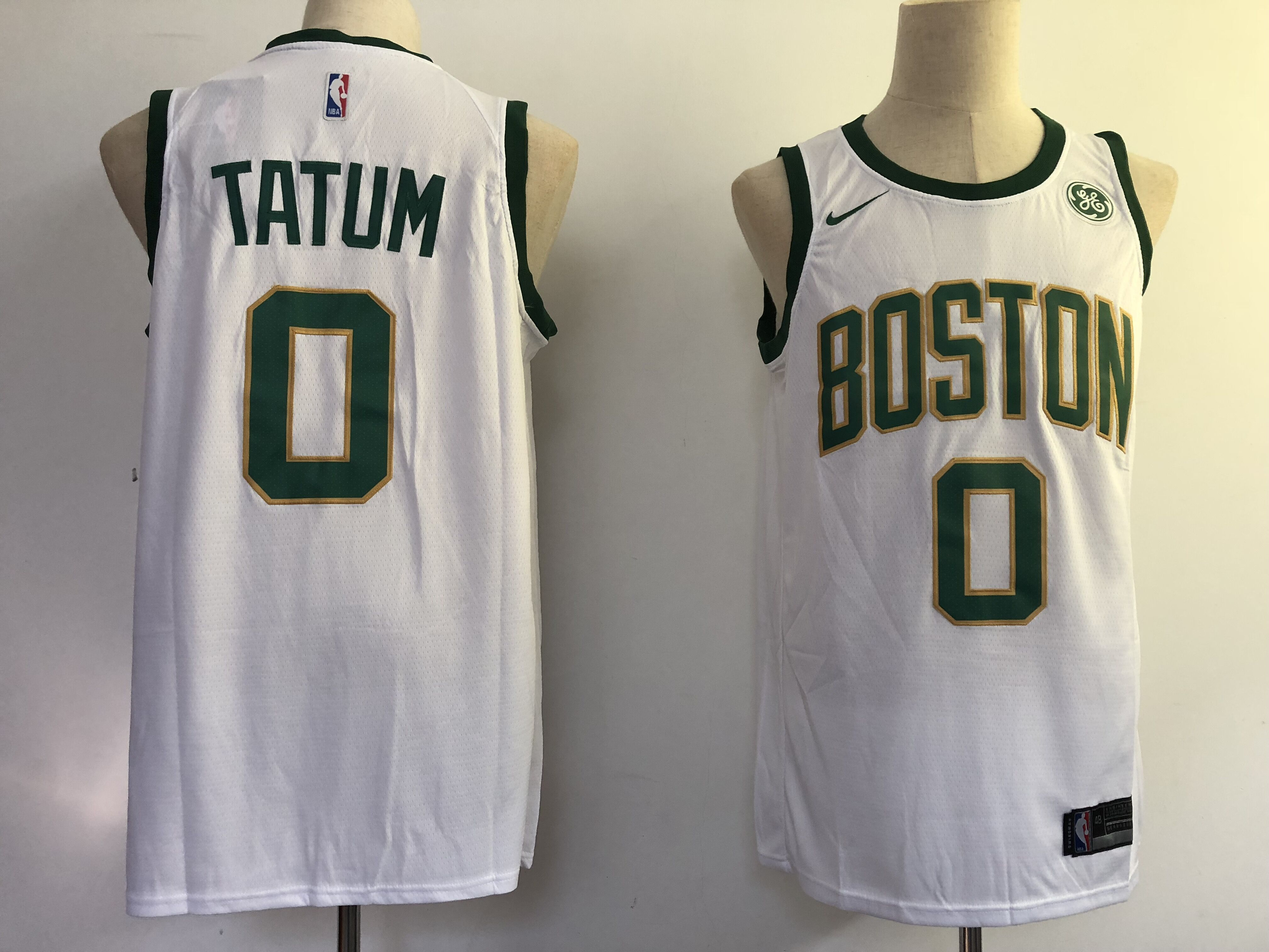 Men Boston Celtics 0 Tatum white City Edition Game Nike NBA Jerseys 2352d0fae