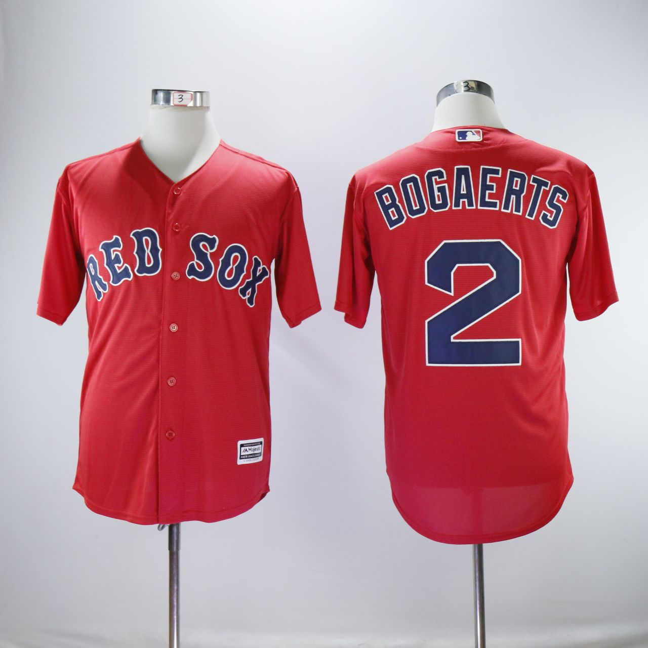Men Boston Red Sox 2 Bogaerts Red MLB Jerseys