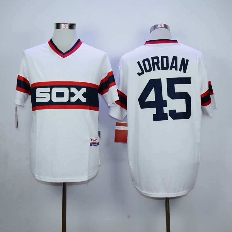 Men Chicago White Sox 45 Jordan White MLB Jerseys1
