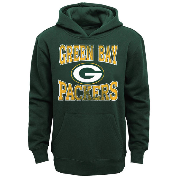 Men Green Bay Packers Home Turf Pullover Hoodie Green